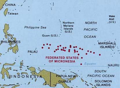 Merip micronesia about us the federated states of micronesia is located in the western pacific ocean and is part of the caroline islands the four main islands pohnpei chuuk publicscrutiny Images